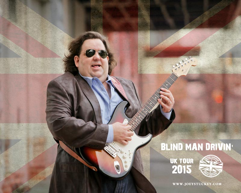 "Joey Stuckey - ""Blind Man Drivin'"" UK Tour '15"