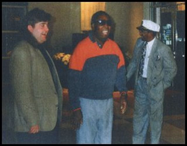 joey with clarence carter 1