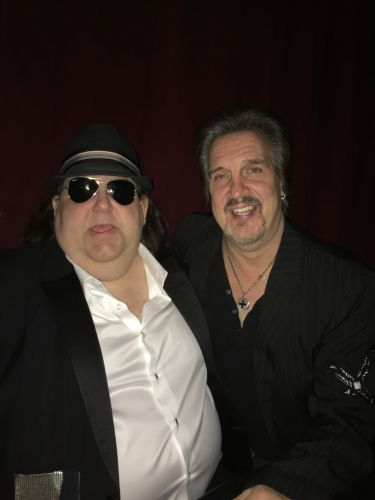 Joey with Trumpeter Extraordinaire Al Chez at BB Kings in NYC at Grammy Soiree