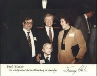 stuckey family with jimmy carter