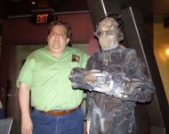 Joey-with-Borg-at-Star-Trek-Experience-Las-Vegas-2008