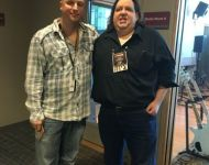 Joey with Sweetwater Producer & Engineer Mark Hornsby