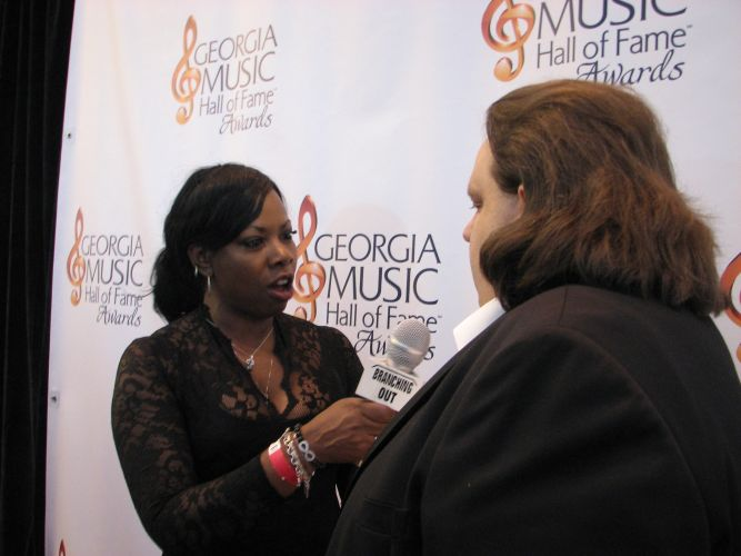 Joey on red carpet GA Music HOF