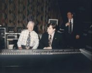 joey with jimmy carter in studio