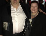 Joey and Jen at BB Kings for Grammy Soiree in NYC