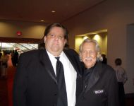 Joey with John L Carson at GA Music Hall of Fame Awards