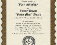 guitar man award 2007