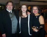 Joey and Jennifer with friends at GA Music Hall of Fame Awards