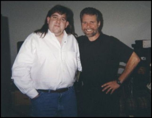 Joey with Chuck Leavell