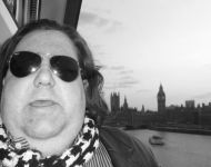 Joey on London Eye