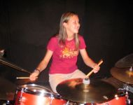 Teresa from Midsummer Macon sitting in with Joey Stuckey Band at Capitol Theater June 6, 2006