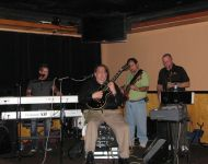 Joey Stuckey Band performing
