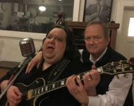 Joey and Talmadge at Sun Studio