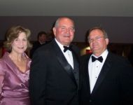 gmhof2005 talmadge with sonny perdue and first lady 1