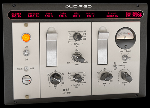 Audified U78 Saturator