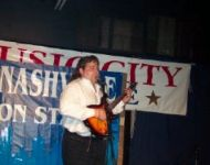 joey taping nashville onstage
