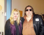 Music-from-Macon-book-signing-Joey-with-author-CandiceDyer