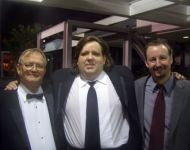 Joey with dad Talmadge and best bud Charles Arnold at 2009 GA Music HOF Awards