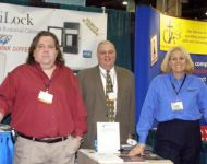 Joey at NRB with Bruce Scott and Kimberly Dawn in Dallas