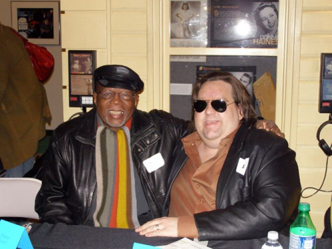 Music-from-Macon-book-signing-Joey-with-HampSwain