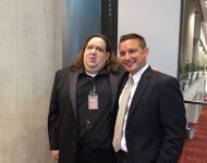 Joey with Ben Jones at GA Music HOF