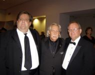 Joey with John L Carson and Talmadge Stuckey at 2009 GA Music HOF Awards