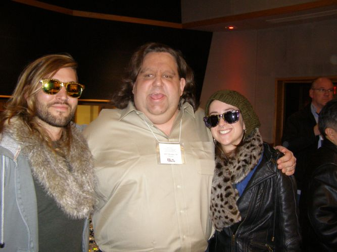 Joey with Coley and Abby at ASSR Ocean Way Nashville Feb 2013