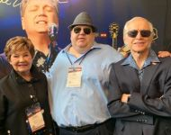 Joey with Dinah and George Gretsch at 2019 Summer NAMM in Nashville