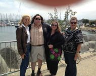 Joey and Jen with Kimberly Dawn and Cheryl in Monterey