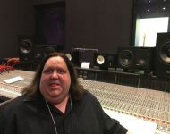 Joey at the console in Studio A at Hybrid Studios