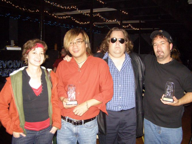 Joey-with-The-Adopted-at-the-2007-EATV-Awards