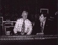 Joey at the board with President Jimmy Carter