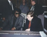 joey with james brown