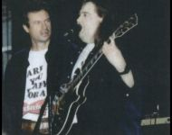 Joey with Jimmy Hall performing 1