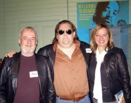 Paul Hornsby, Joey and Lisa Love at Macon Music Book Release